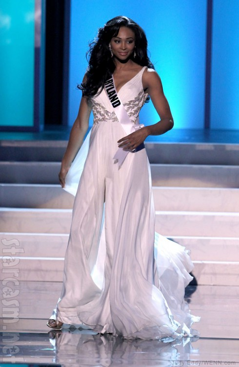 2012 Miss Maryland Nana Meriwether is now Miss USA
