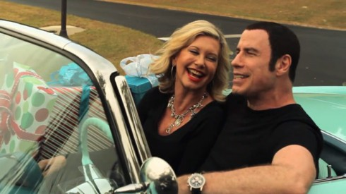 "Olivia Newton-John and John Travolta music video ""I Think ..."
