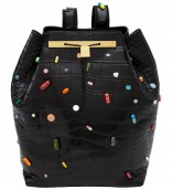 The Olsen Twins and The Row prescription pill handbag with Damien Hirst