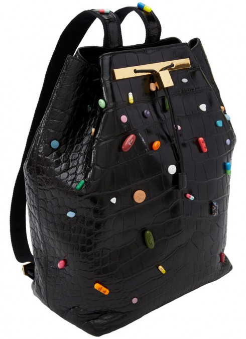 The Olsen Twins prescription pill handbag for The Row