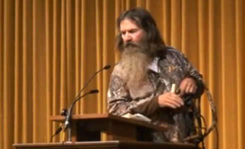 phil robertson why the beard