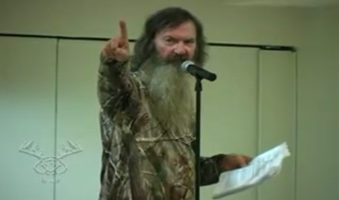 the duck commander phil robertson is the patriarch of the most famous