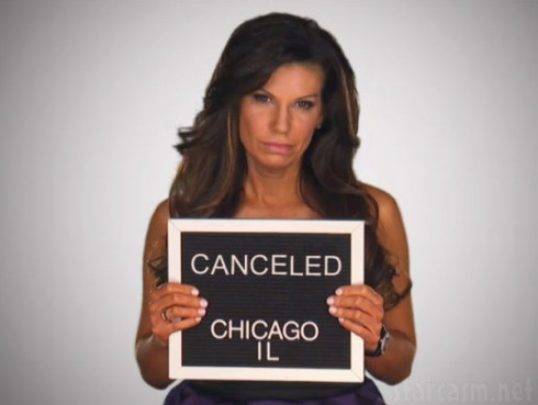 Mob Wives Chicago canceled Pia Rizza mug shot photo