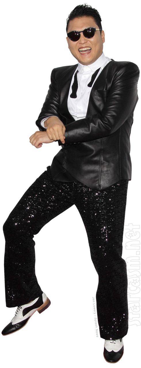 Psy Gangnam Style horse dance clip art