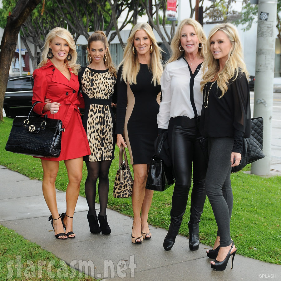 ... Lydia McLaughlin Real Housewives of Orange County Tamra Barney Vicki
