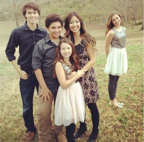 five kids john luke will bella rebecca and sadie