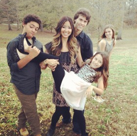 Duck Dynasty Willie Robertson children Korie Kids John Luke Sadie