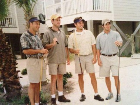 PHOTOS Duck Dynasty's Robertson men as younger, clean-shaven athletes