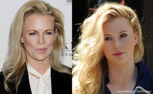 Side-by-side Kim Basinger Ireland Baldwin
