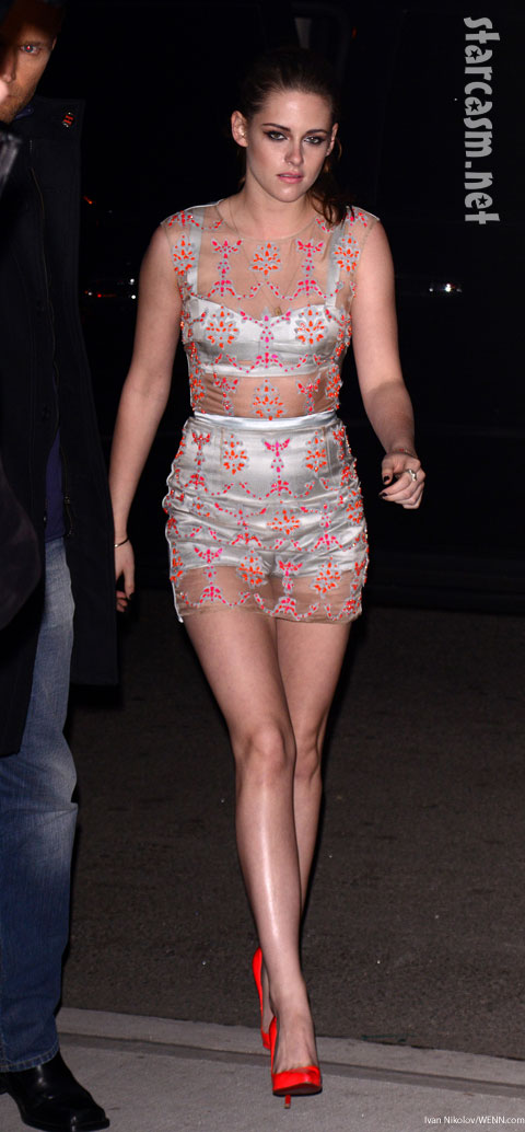 Kristen Stewart see-through dress Erdem