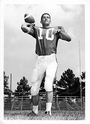 Exhibit D: When Phil Robertson played (beardless) football, Terry