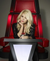 Shakira in 'The Voice' season 4 promo photo