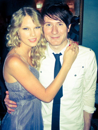 Taylor Swift and Owl City's Adam Young