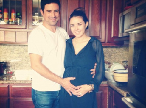 Evan Haines and wife Alexis Neiers
