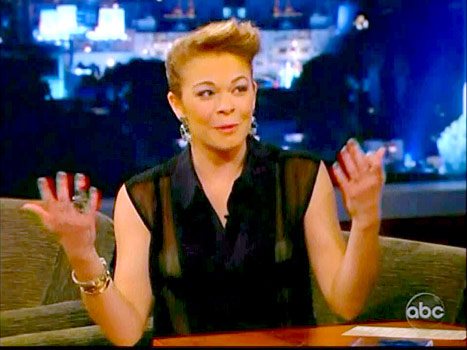 LeAnn Rimes on Jimmy Kimmel Live on January 22