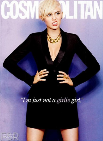 Miley Cyrus in Cosmopolitan Magazine March 2013