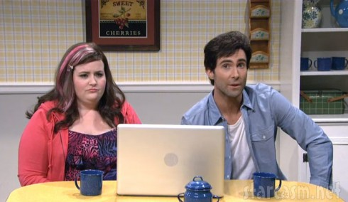 SNL skit with Adam Levine as Catfish host Nev Schulman