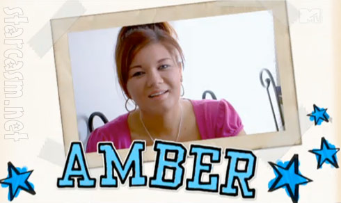Teen Mom Amber Portwood scrapbook graphic
