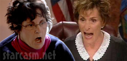 Jenelle's mom Barbara Evans and Judge Judy