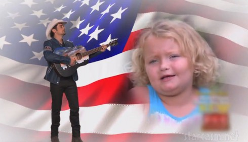 Brad Paisley Honey Boo Boo theme song music video