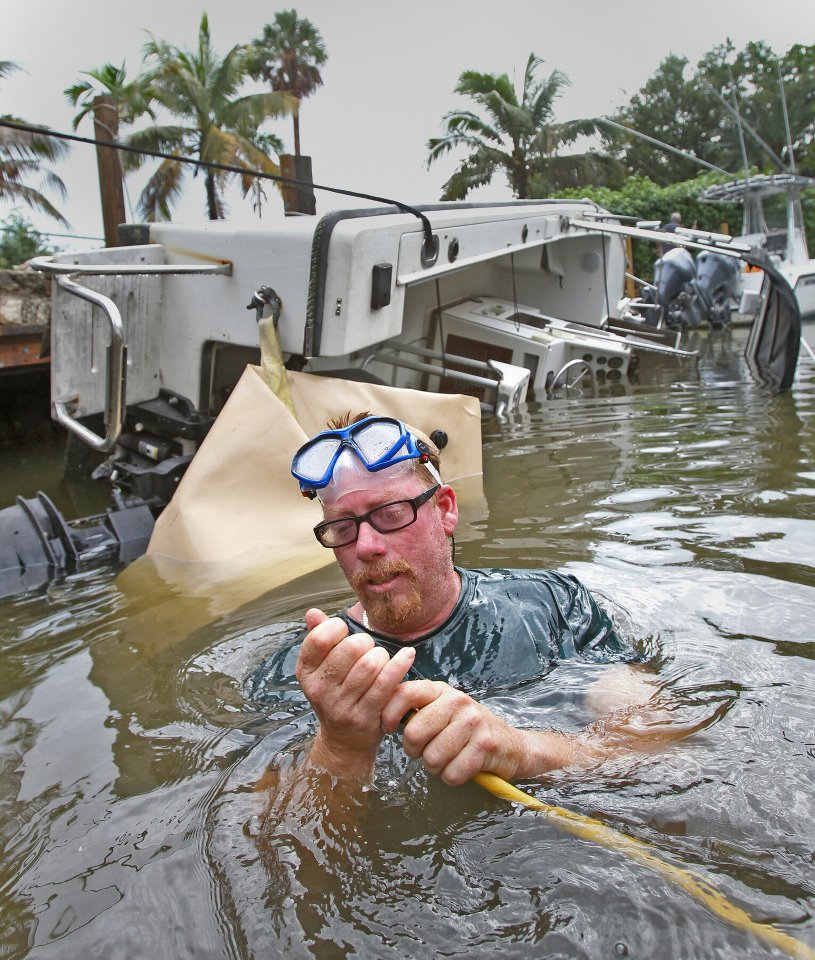 Shipwreck Men Burt Korpela