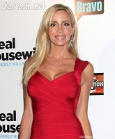 'Real Housewives of Beverly Hills' star Camille Grammer in red dress on the red carpet