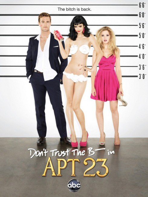 Sexy Krysten Ritter Dont Trust the B---- in Apartment 23 poster