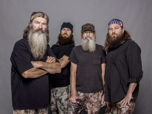 Duck Dynasty Phil Robertson Jase Robertson Uncle Si Robertson Willie Robertson