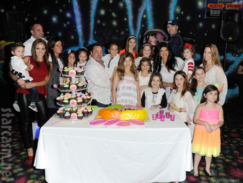 The Giudices and Gorga pose for group photo at Gia Giudice's 12th birthday party