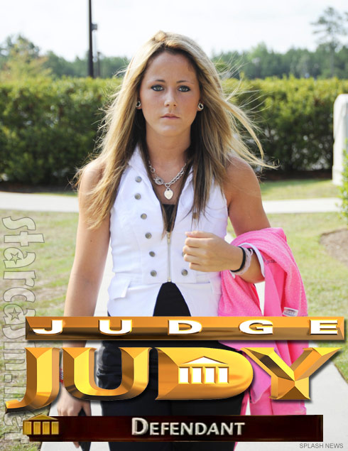 Teen Mom Jenelle Evans to appear on Judge Judy?
