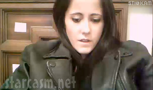 Jenelle Evans addresses Courtland split in live stickam video