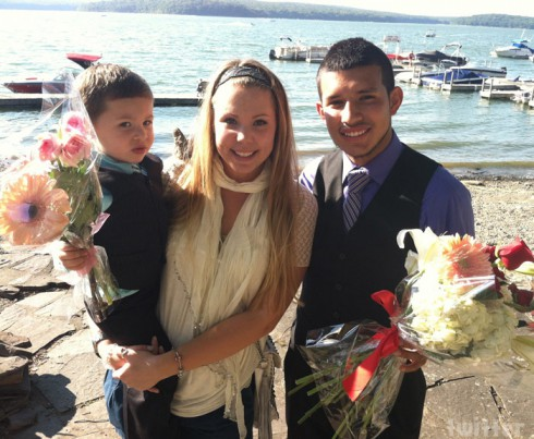Teen Mom Kailyn Lowry Javi Marroquin and her son Isaac