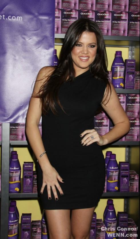 Khloe Kardashian Endorses QuickTrim