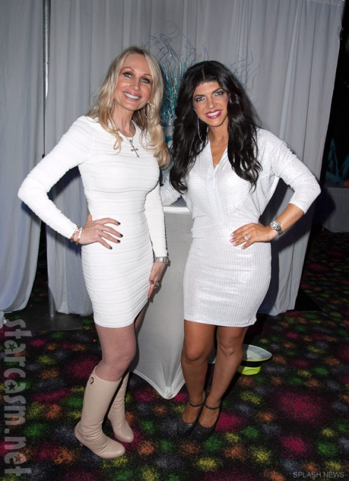 Kim D Kim DePaola and Teresa Giudice together