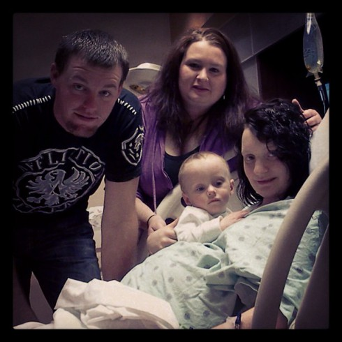 16 and Pregnant Kristina Robinson Head husband TJ and son Todd Lukas