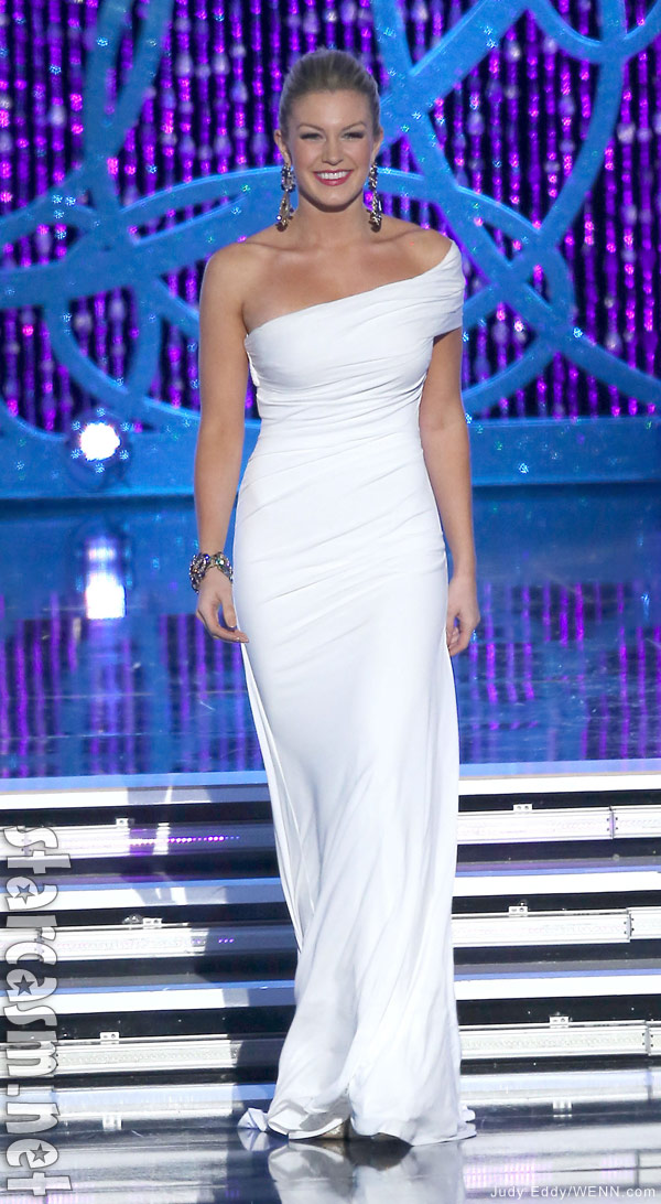 2013 miss america mallory hagan evening wear competition photo