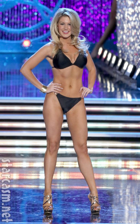 Miss America Mallory Hagan swimsuit competition photo