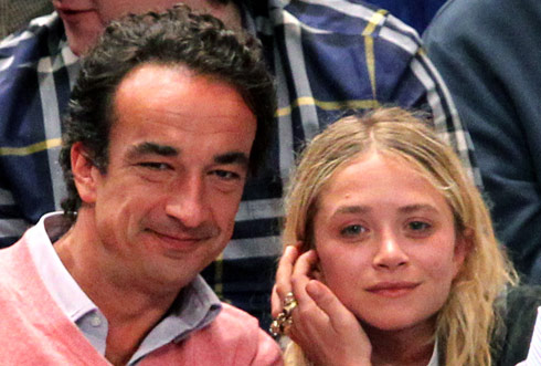 Mary-Kate Olsen and her older boyfriend Oliver Sarkozy