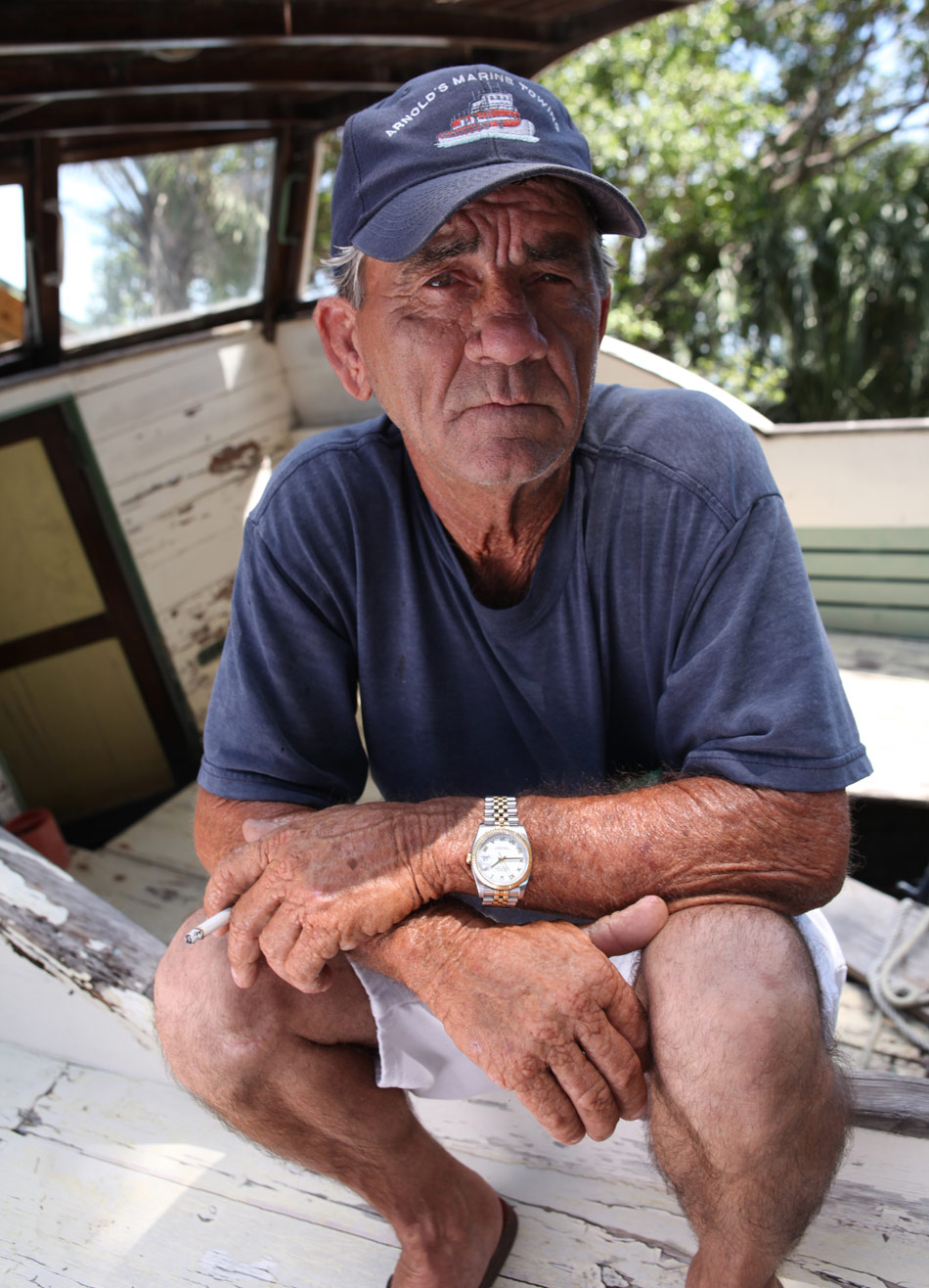 Shipwreck Men, Ricky Arnold, Sr.