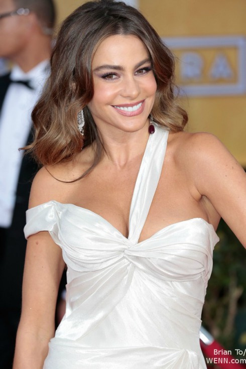 Sofia Vergara at SAG Awards 2013