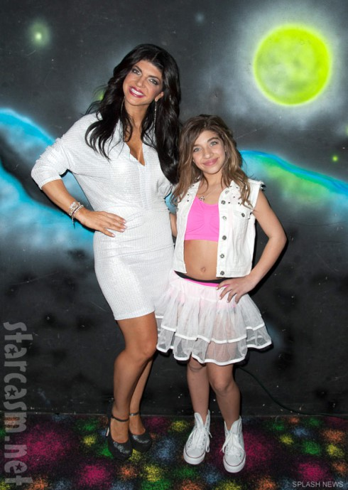 Teresa Giudice and daughter Gia Giudice celebrate Gia's 12th birthday
