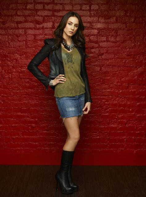 Troian Bellisario as Spencer Hastings on Pretty Little Liars Season 3b