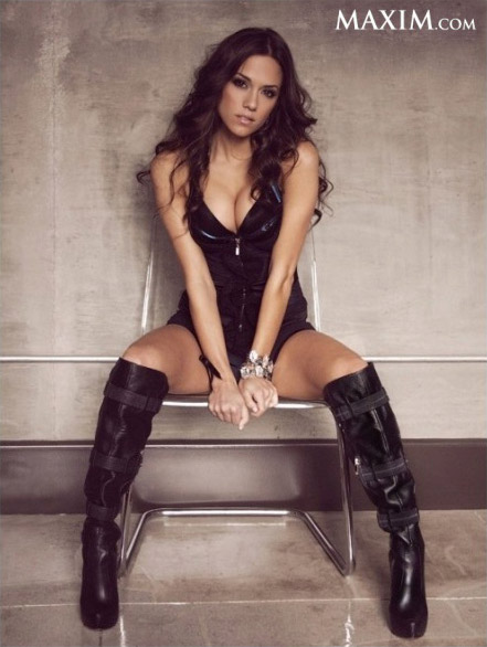 Jana Kramer Maxim sexy photo shoot