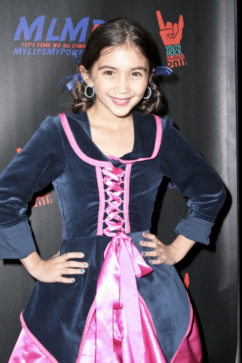 Rowan Blanchard, actress who plays Riley in 'Girl Meets World,' at the 2011 Youth Rock Awards at Avalon. Hollywood, California - 07.12.11