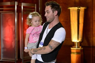 Matt Farmer and daughter on 'American Idol' season 13