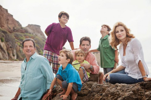 'LA Shrinks' star Dr. Venus Nicolino with father, husband, sons, and nephews