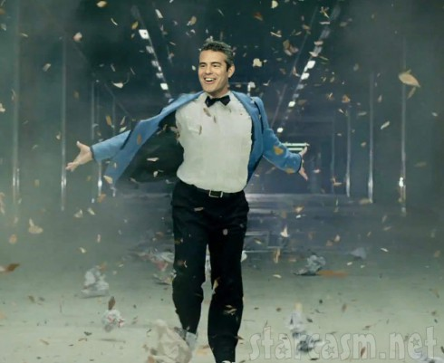 Andy Cohen as Psy from Gangnam Style music video