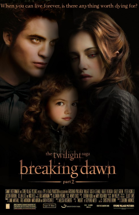 Breaking Dawn, Part II Poster