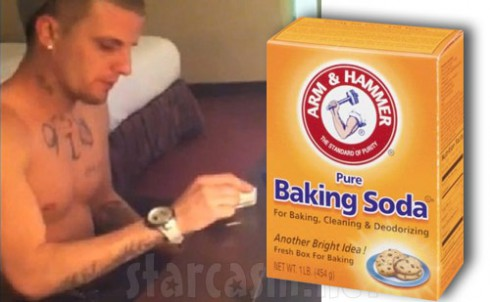 Courtland Rogers says he was snorting baking soda in the Radar Online heroin video