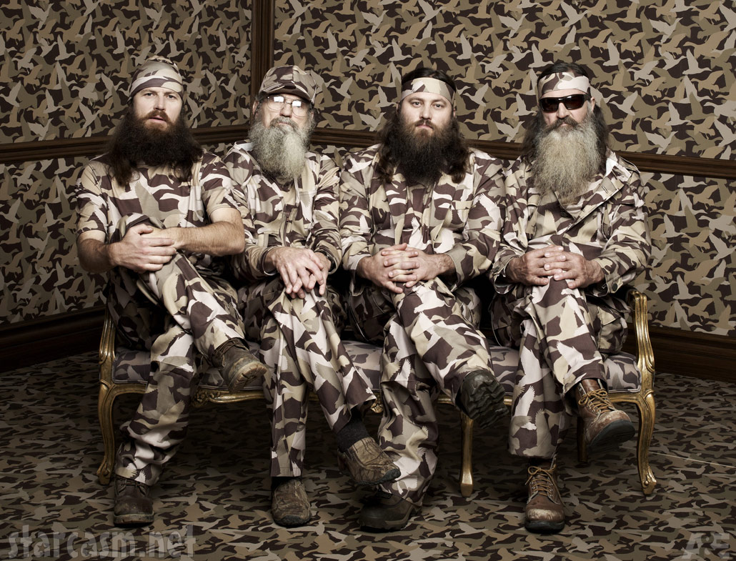 Duck Dynasty Robertsons Willie Jase Phil Uncle Si